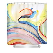 Complacence Shower Curtain