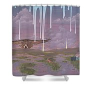 Complacency  Shower Curtain