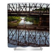 Complex Reflections  Shower Curtain