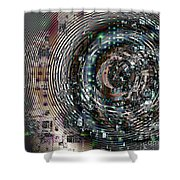 Complexity City Shower Curtain