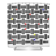 Composition 2 Shower Curtain