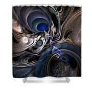 Concatenations Shower Curtain