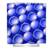 Concave And Convex Shower Curtain