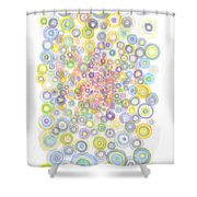Concavity Shower Curtain