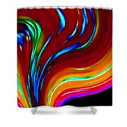 Conceptual 10 Shower Curtain