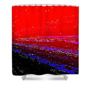 Conceptual 13 Shower Curtain