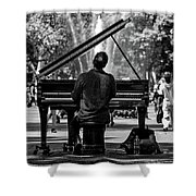 Concert In The Park Shower Curtain