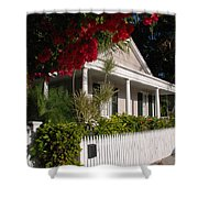 Conch House In Key West Shower Curtain