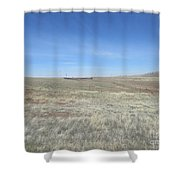 Concho Corral Shower Curtain