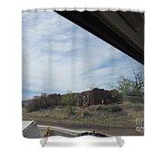 Concho Ruins Shower Curtain