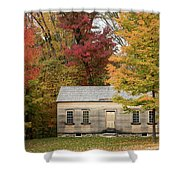 Concords Robbins Farm Shower Curtain