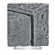 Concrete Corner 2787 Shower Curtain