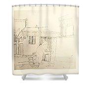 Worker Shower Curtain