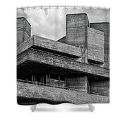Concrete - National Theatre - London Shower Curtain