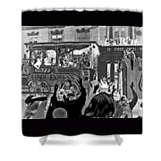 Conde Express Shower Curtain