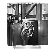 Conductor Shower Curtain