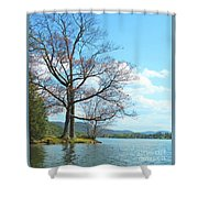 Cone's Point Shower Curtain