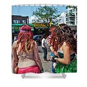 Coney Island Girls Shower Curtain