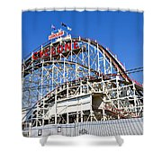 Coney Island Memories 2 Shower Curtain