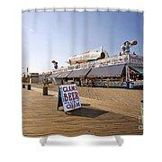 Coney Island Memories 7 Shower Curtain