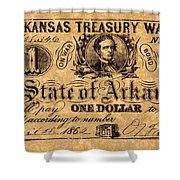 Confederate Banknote Shower Curtain