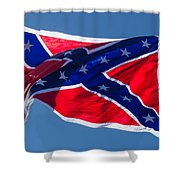 Confederate Flag 4 Shower Curtain