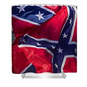 Confederate Flag 5 Shower Curtain
