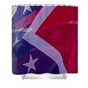 Confederate Flag 6 Shower Curtain