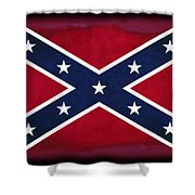 Confederate Rebel Battle Flag Shower Curtain
