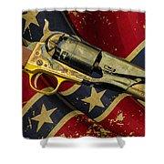 Confederate Sidearm Shower Curtain