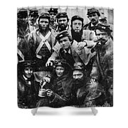 Confederate Soldiers, 1861 - To License For Professional Use Visit Granger.com Shower Curtain
