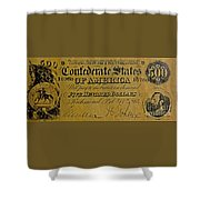 Confederate States Shower Curtain