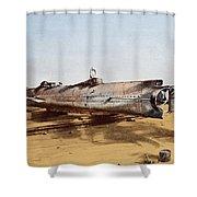 Confederate Submarine, Hunley Shower Curtain