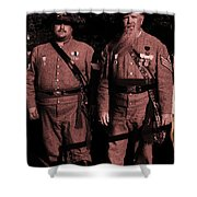 Confederate Tintype Civil War Shower Curtain