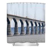 Confederation Bridge 5511 Shower Curtain