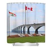 Confederation Bridge 5524  Shower Curtain