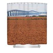 Confederation Bridge 5531 Shower Curtain