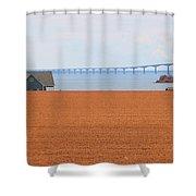 Confederation Bridge 5534 Shower Curtain