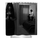 Confesiones Shower Curtain