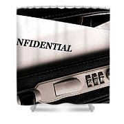 Confidential Documents Shower Curtain