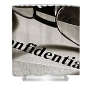 Confidential Shower Curtain