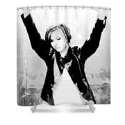 Confined Shower Curtain