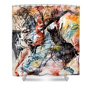 Conflict And Dialogue Shower Curtain