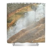 Conflict Of Forms Shower Curtain
