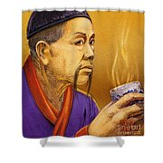 Confucian Sage Shower Curtain