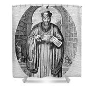 Confucius (c551-479 B.c.) Shower Curtain