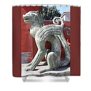 Confucius Temple Phoenix  Shower Curtain