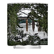 Congaree River Glimpse Shower Curtain