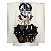Congo Lady Shower Curtain