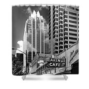 Congress Avenue Vista Shower Curtain